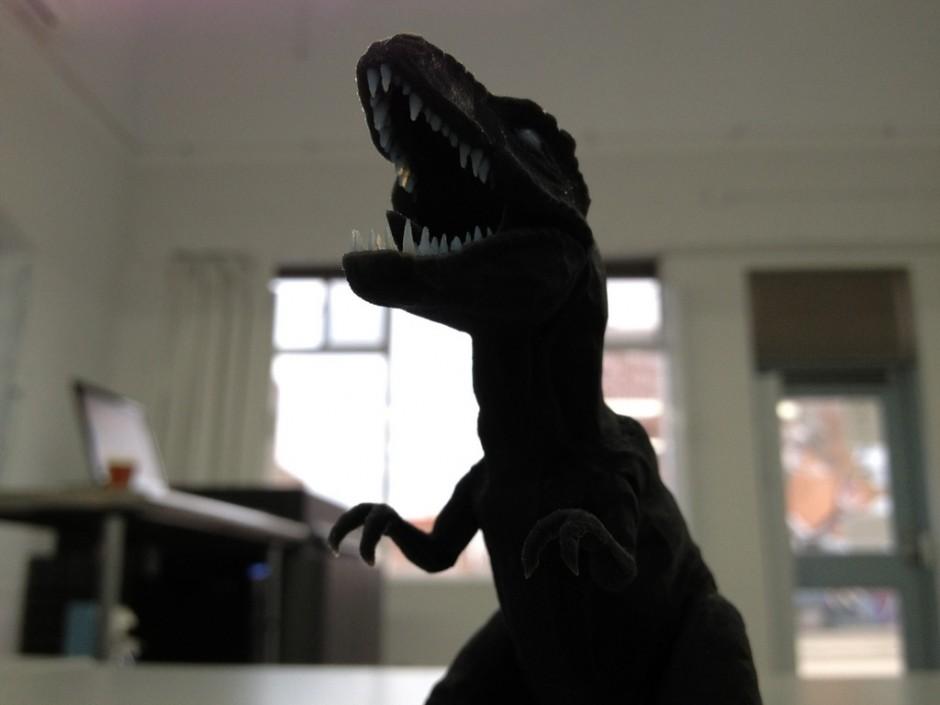 3d printed dinosaur