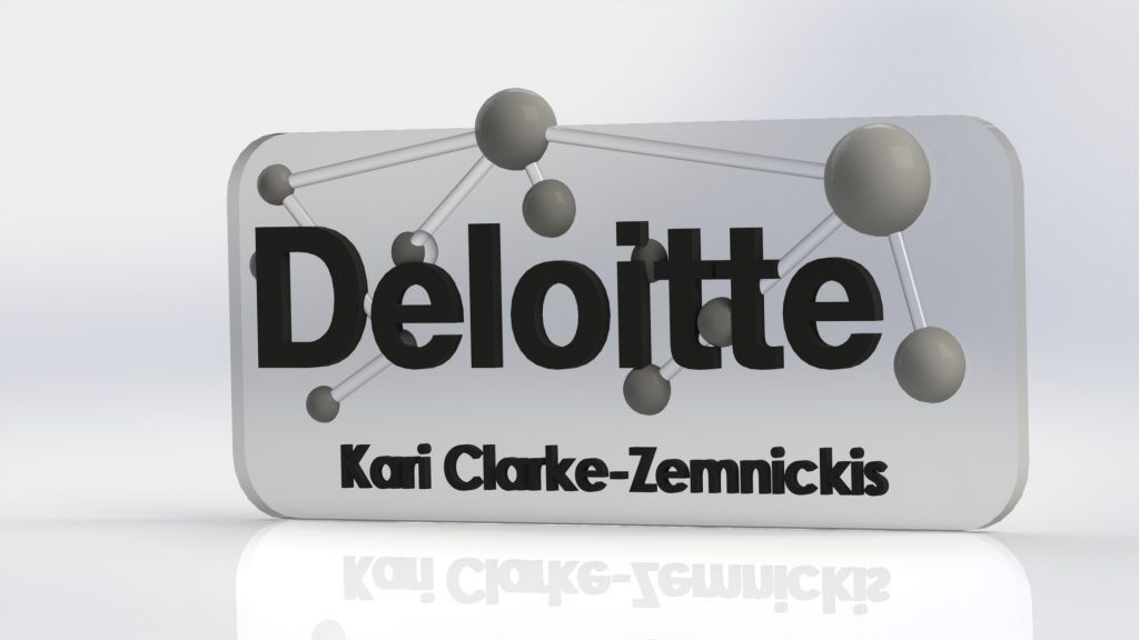 Deloitte - Atom - Mock up - name tag R1V1