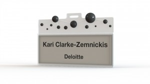 Deloitte - Name Tag - Insert - R5V1